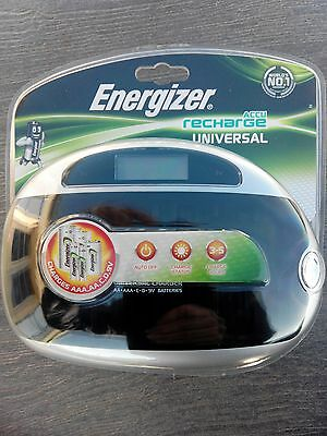 Chargeur Universel ENERGIZER - Pour piles rechargeables AA-AAA-C-D-9V