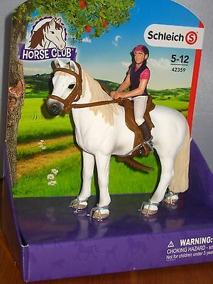NEW  Schleich Pony Horse Club Recreational Rider 42359 for Stable all items inc