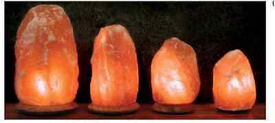 Lamparas De Sal Del Himalaya Natural Incluye Cable Y Bombilla. Salt Lamps