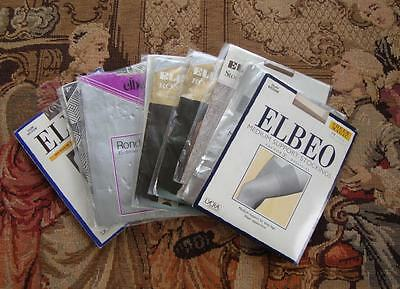 A45 - Job Lot Of 10 Packs Of Vintage Elbeo Stockings & Tights