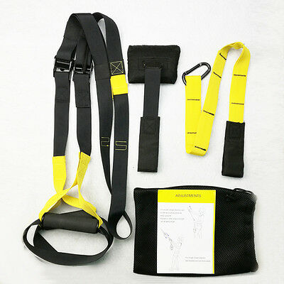 trainer Body Trainer Suspension Straps Home Fitness Oryginal yellow black