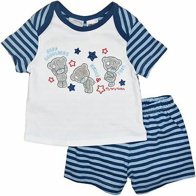Baby Boy Tiny Tatty Teddy Pyjamas Set