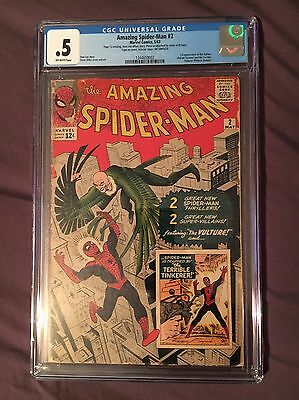 The Amazing Spider-Man #2 (May 1963, Marvel) CGC .5
