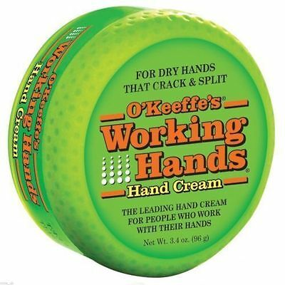 O'Keeffe's Working Hands Hands Cream For Dry Cracked Hands Split Skin Non Greasy