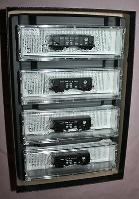 Micro-Trains 99400096 - Z Scale 2-Bay Hopper with Load 4pk - Baltimore & Ohio