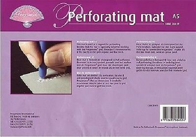 Pergamano A5 Black Perforating Mat - Parchment Craft - 31419 - NEW