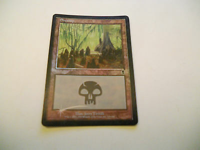 1x MTG FOIL Swamp-Palude 339/350 Magic EDH ODY Odissea ING Inglese x1