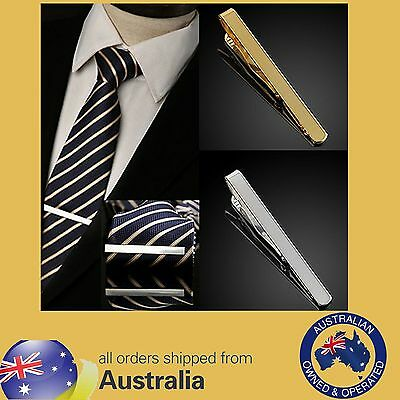 New Best Man Silver/Gold Tie Clip - Stainless Steel Very Sturdy I wear one