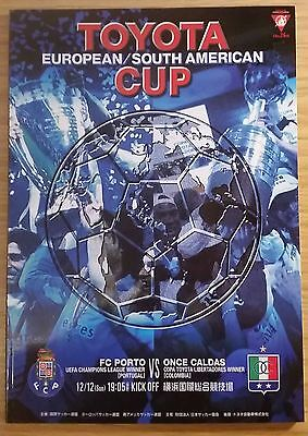2004 Toyota Cup Final Programme - FC Porto v Once Caldas