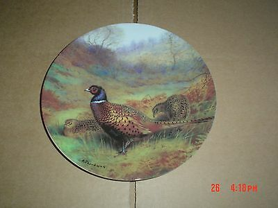 Bradford Exchange Collectors Plate PHEASANT IN AN AUTUMN WOOD