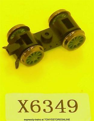 hornby oo spare x6349 1x green front bogie assembly for tornado r3060 model