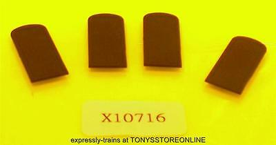 hornby oo spares x10716 1x pack of 4 flat doors to suit the hawksworth coach