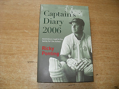 Signed Book-Ricky Ponting-Captains Diary 2006-Australia Cricket