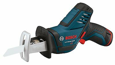 Bosch PS60-102 NEW 12V Cordless Reciprocating Saw Kit 2 AH Lithium-Ion Warranty
