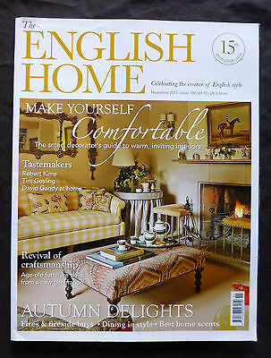 The English Home, Nov. 2015, Iss. 129, Celebrating the Essence of English Style