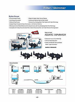 OF OCEAN FREE HYDRA STREAM 3 FILTER for 2500 litre and under POND/AQUARIUM