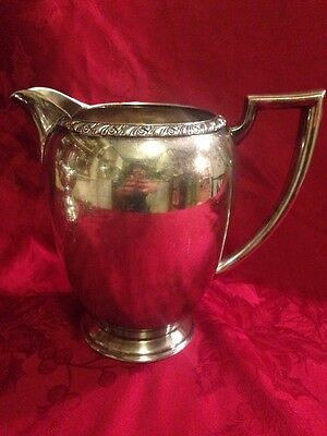 Rogers Silverplate Berwick Water Pitcher Vintage