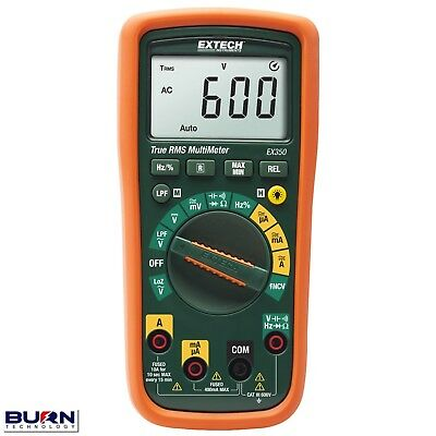 Extech EX350 / EX355 Professional Multimeter with Non-Contact Voltage Detector
