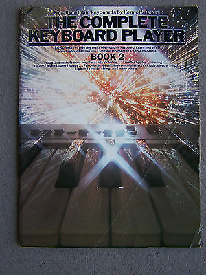 The Complete Keyboard Player Book 2 Sheet Music Vintage Copy 48 Pages