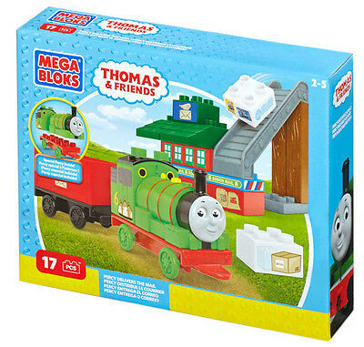 Mega Bloks Thomas & Friends Junior Builders Percy Delivers The Mail Cnd72