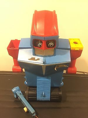 IDEAL1960's Robot Commando Mike Controlled Robot For Repair Or Parts