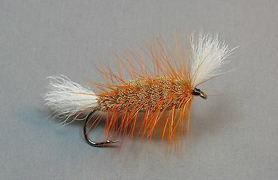 Orange Bomber - Size 4 - Atlantic Salmon and Trout Fly