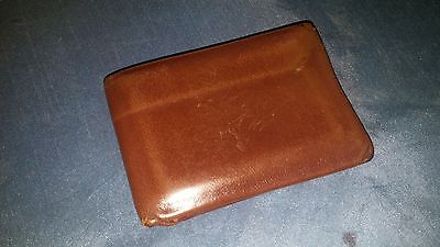 HANDSOME Vintage LORD BUXTON STATESMAN Men's Brown LEATHER Wallet!