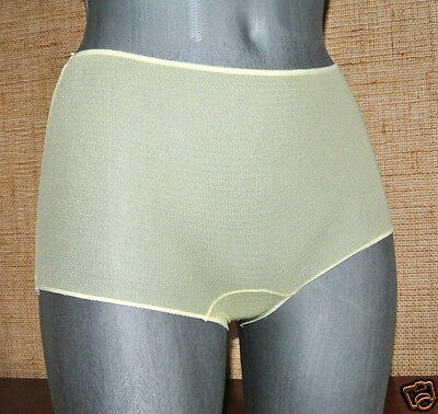 Culotte 38/40 Nylon Stretch Knicker Panty Pantie New Lingerie Ancienne Retro*515