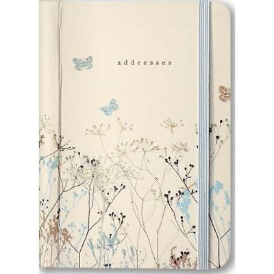 FREE 2 DAY SHIPPING: Butterflies Address Book (Address Books) (Diary)