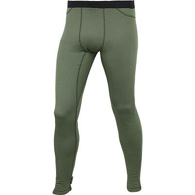 "Bottom Thermal Underwear Base Layer Pants ""Tactigrid"" Polartec Power Grid"