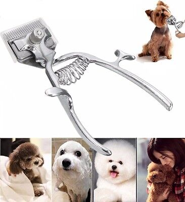 Professional Animal Grooming Kit Pet Cat Dog Hair Trimmer Shaver Razor Clipper