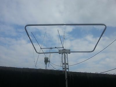 4 meters 70 mhz  halo antenna