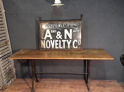 rare vintage antique shop sign, Army and Navy co