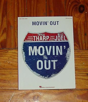 Billy Joel - MOVIN' OUT Souvenir  Book - 126 Pages