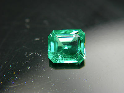 rare Colombian Emerald gem FINE CLARITY Natural Muso Colombia Green Muzo z51