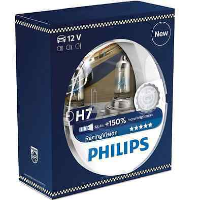 2 Ampoule H7 12V 55W Philips Racing Vision +150% 3800K