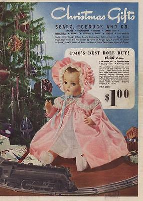 1940 Sears Christmas Book ( Wish Book ) Toys & More Great Reference PDF On CD