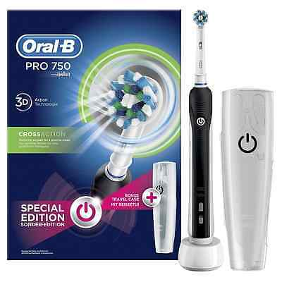 CEPILLO DIENTES ELÉCTRICO RECARGABLE - Oral-B PRO 750 CrossAction