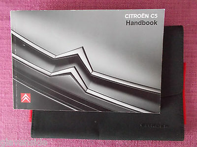 Citroen C5 Owners Manual - Owners Guide - Owners Handbook. (Ci 416)