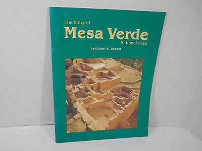 Vintage 1980 The Story Mesa Verde National Park Softcover Book Native American