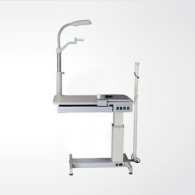 EFLE 110V Optical Ophthalmic Eyeglass Test Stand Optometrist Work Combined Table