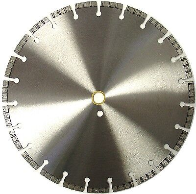 "14"" Diamond Saw Blade for Cutting Hard Concrete Reinforced Concrete Brick Pavers"