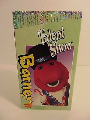 Barney -  Barney's Talent Show (VHS, 2000, Classic Collection)