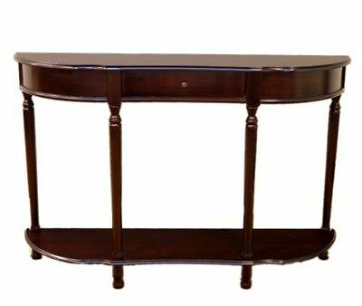 Modern Console Sofa Wood Hall Table with Drawer -Frenchi Home Furnishing