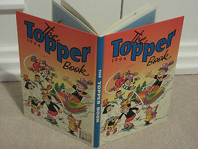 THE TOPPER BOOK, 1994-UNCLIPPED-VGC-LIKE BEANO/DANDY-No inscriptions
