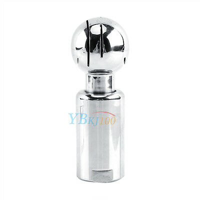 "1/2"" Female Rotary Sanitary Cleaning Spray Ball 304 Stainless Steel High Quality"