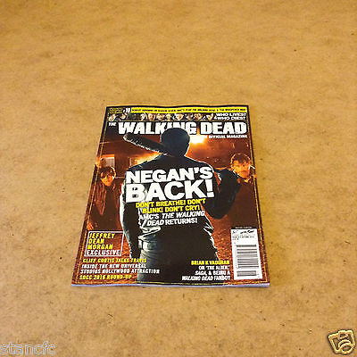 The Walking Dead #18 Autumn 2016 The Official Magazine Interviews News Pictures