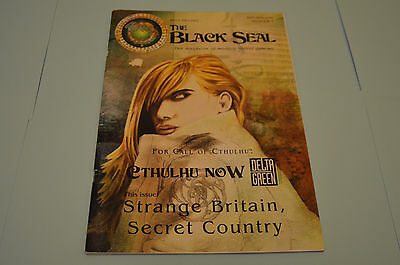THE BLACK SEAL issue 1 for Call of Cthulhu, Delta Green, Cthulhu Now RPG