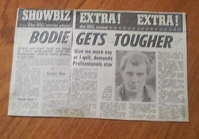 Lewis Collins Bodie Gets Tougher Threatens to Quit Professionals Article
