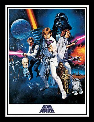 Star Wars - A New Hope - 30 x 40cm Framed Poster Print FP11220P